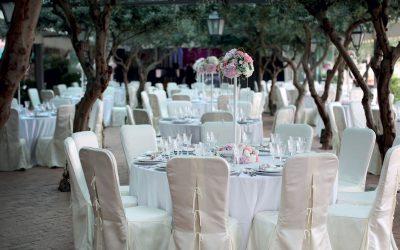 3 tipologie di allestimenti di nozze all'aria aperta