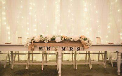 Matrimonio in casa: 5 consigli per organizzare il ricevimento