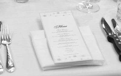 Il menù di nozze perfetto: come sceglierlo in base alla location