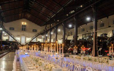Sposarsi a Napoli a Pietrarsa: un matrimonio esclusivo in un'antica stazione ferroviaria