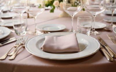 La mise en place al matrimonio: le regole da seguire secondo il galateo